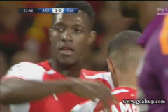 Skrót Arsenal <b>4-1</b> Galatasaray