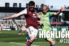 Skrót Colorado Rapids <b>1-4</b> Seattle Sounders FC