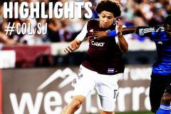 Skrót Colorado Rapids <b>1-1</b> San Jose Earthquakes