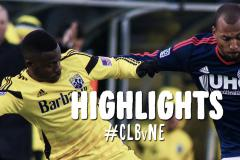 Skrót Columbus Crew <b>2-4</b> New England Revolution