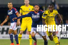 Skrót Columbus Crew <b>1-0</b> New England Revolution