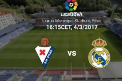 Skrót Eibar <b>1-4</b> Real Madrid