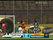 Skrót CD FAS <b>1-0</b> Juventud Independiente