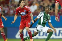 Skrót Dallas Burn <b>0-2</b> Portland Timbers