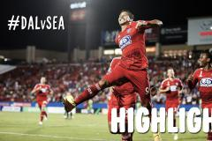 Skrót FC Dallas <b>3-1</b> Seattle Sounders FC