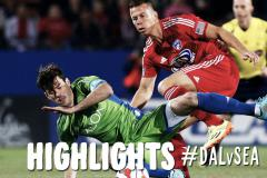 Skrót FC Dallas <b>1-1</b> Seattle Sounders FC