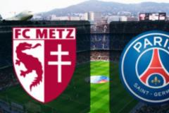 Skrót Metz <b>2-3</b> Paris Saint-Germain