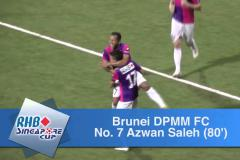 Skrót Global F.C <b>0-7</b> Brunei DPMM