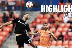 Skrót Houston Dynamo <b>1-3</b> DC United