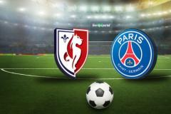 Skrót Lille <b>0-1</b> Paris Saint-Germain