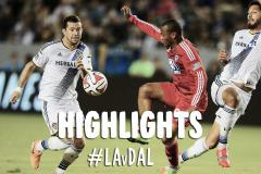 Skrót L.A. Galaxy <b>2-1</b> Dallas Burn