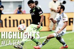 Skrót L.A. Galaxy <b>2-2</b> Seattle Sounders FC