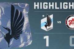 Skrót Minnesota United <b>1-0</b> Atlanta Silverbacks