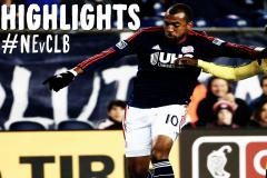 Skrót New England Revolution <b>3-1</b> Columbus Crew