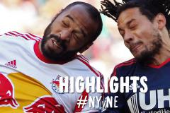 Skrót New York Red Bulls <b>1-2</b> New England Revolution