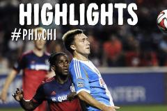 Skrót Philadelphia Union <b>1-1</b> Chicago Fire