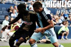 Skrót Philadelphia Union <b>2-1</b> Sporting Kansas City