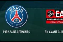 Skrót Paris Saint-Germain <b>4-0</b> Guingamp