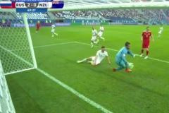 Skrót Russia <b>2-0</b> New Zealand