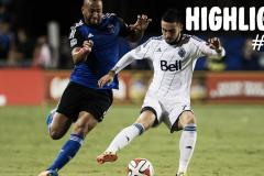 Skrót San Jose Earthquakes <b>0-0</b> Vancouver Whitecaps