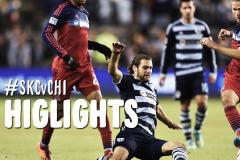 Skrót Sporting Kansas City <b>2-0</b> Chicago Fire