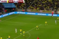 Skrót Sweden <b>2-1</b> France