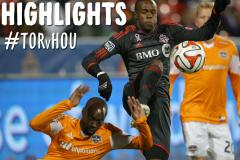 Skrót Toronto FC <b>0-1</b> Houston Dynamo