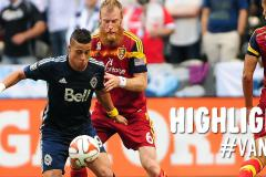 Skrót Vancouver Whitecaps <b>2-1</b> Real Salt Lake