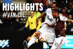 Skrót Vancouver Whitecaps <b>1-0</b> Colorado Rapids